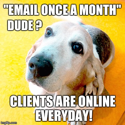 Email-once-a-month